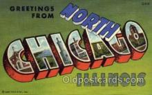 LLT001290 - Chicago, Illinois Large Letter Town Towns Post Cards Postcards
