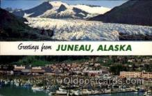 LLT001299 - Juneau, Alaska Large Letter Town Towns Post Cards Postcards