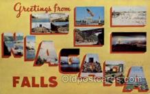 LLT001301 - Niagara Falls Large Letter Town Towns Post Cards Postcards