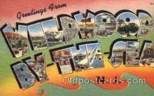 LLT001430 - Greetings From Wildwood By The Sea, New Jersey, USA Large Letter Town Towns Postcard Postcards