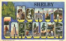 LLT001618 - Greetings From North Carolina, USA Large Letter Town Towns Postcard Postcards