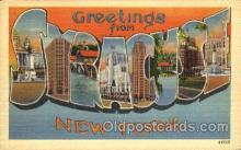LLT001666 - Greetings From Syracuse, New York, USA Large Letter Town Towns Postcard Postcards