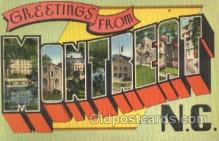 LLT001823 - Montreat, North Carolina Large Letter Town Postcard Postcards