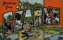 LLT001854 - Ozarks,Missouri, USA Large Letter Towns  Postcard Postcards