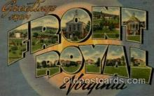 LLT001855 - Front Royal,Virginia, USA Large Letter Towns  Postcard Postcards