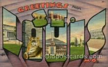 LLT001879 - St, Louis, USA Large Letter Towns  Postcard Postcards