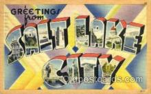 LLT001892 - Salt lake, USA Large Letter USA Town, Towns, Postcard Postcards