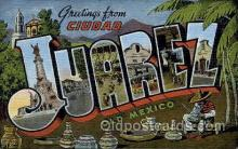 LLT001898 - Ciudad Juarez, Old mexico, USA Large Letter USA Town, Towns, Postcard Postcards