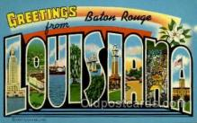 LLT001915 - Baton Rouge, Louisiana, USA Large Letter USA Town, Towns, Postcard Postcards