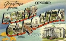 LLT001928 - North Carolina, USA Large Letter USA Town, Towns, Postcard Postcards