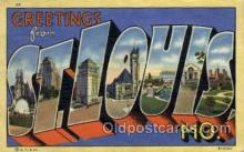 LLT001948 - ST.Louis, Missouri, USA Large Letter USA Town, Towns, Postcard Postcards
