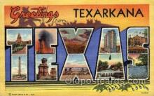 LLT001954 - Texarkana, USA Large Letter USA Town, Towns, Postcard Postcards
