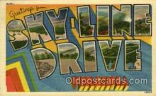 LLT001959 - Sky line drive, Virginia, USA Large Letter USA Town, Towns, Postcard Postcards