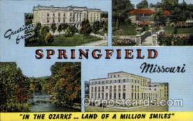 LLT002004 - Springfield, Missouri, USA Large Letter USA Town, Towns, Postcard Postcards