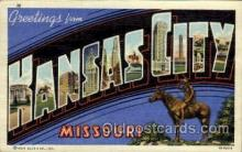 LLT002030 - Kansas City, Missouri, USA Large Letter USA Town, Towns, Postcard Postcards