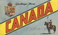 LLT002040 - Canada Large Letter Town Views Old Vintage Postcard Post Cards