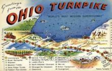 LLT002045 - Ohio USA Large Letter Town Views Old Vintage Postcard Post Cards