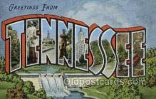 LLT002080 - Tennessee USA Large Letter Town Views Old Vintage Postcard Post Cards