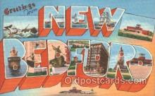LLT100028 - New Bedford, USA Large Letter Town, Towns, Postcard Postcards