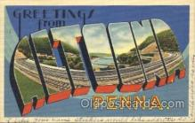 LLT100039 - Altoona, Penna, USA Large Letter Town, Towns, Postcard Postcards