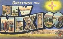 LLT100047 - New Mexico, USA Large Letter Town, Towns, Postcard Postcards