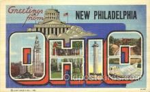 LLT100066 - New Philadelphia, Ohio, Usa Large Letter Town, Towns, Postcard Postcards