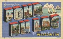LLT100091 - Fond Du Lac, Wisconsin, Usa Large Letter Town, Towns, Postcard Postcards