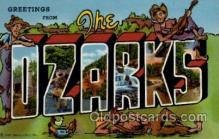 LLT1001123 - The Ozarks Large Letter Town Towns Post Cards Postcards