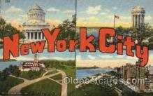 LLT1001127 - New York City, New York Large Letter Town Towns Post Cards Postcards
