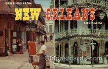 LLT1001130 - New Orleans, Louisiana Large Letter Town Towns Post Cards Postcards