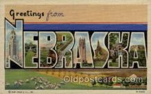 LLT1001139 - Nebraska Large Letter Town Towns Post Cards Postcards