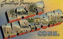 LLT1001144 - East Hartford, Connecticut Large Letter Town Towns Post Cards Postcards