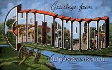 LLT1001149 - Chattanooga, Tennessee Large Letter Town Towns Post Cards Postcards