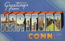 LLT1001155 - Hartford, Connecticut Large Letter Town Towns Post Cards Postcards