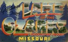 LLT1001170 - Lake of the Ozarks, Missouri Large Letter Town Towns Post Cards Postcards