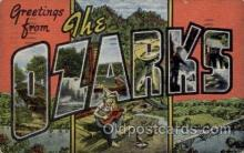 LLT1001189 - The Ozarks Large Letter Town Towns Post Cards Postcards