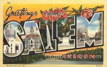 LLT1001201 - Salem, Oregon Large Letter Town Towns Post Cards Postcards
