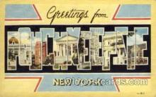 LLT1001206 - Poughkeepzie, New York Large Letter Town Towns Post Cards Postcards