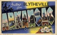 LLT1001208 - Blytheville, Arkansas Large Letter Town Towns Post Cards Postcards