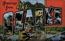 LLT1001213 - The Ozarks Large Letter Town Towns Post Cards Postcards