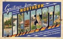 LLT1001219 - Northern Minnesota Large Letter Town Towns Post Cards Postcards