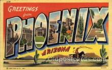 LLT1001221 - Phoenix, Arizona Large Letter Town Towns Post Cards Postcards
