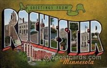 LLT1001222 - Rochester, Minnesota Large Letter Town Towns Post Cards Postcards