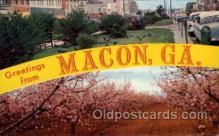 LLT1001223 - Macon, Georgia Large Letter Town Towns Post Cards Postcards