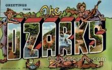 LLT1001234 - The Ozarks Large Letter Town Towns Post Cards Postcards