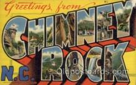 LLT1001242 - Chimney Rock, North Carolina Large Letter Town Towns Post Cards Postcards