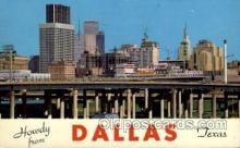 LLT1001245 - Dallas, Texas Large Letter Town Towns Post Cards Postcards
