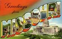 LLT1001257 - Missouri Large Letter Town Towns Post Cards Postcards