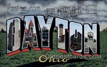 LLT1001275 - Daytona, Ohio Large Letter Town Towns Post Cards Postcards
