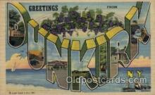 LLT1001277 - Dunkirk, New York Large Letter Town Towns Post Cards Postcards